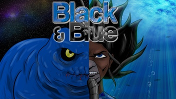 Black & Blue - the Underwater Alien Attack Graphic Novel