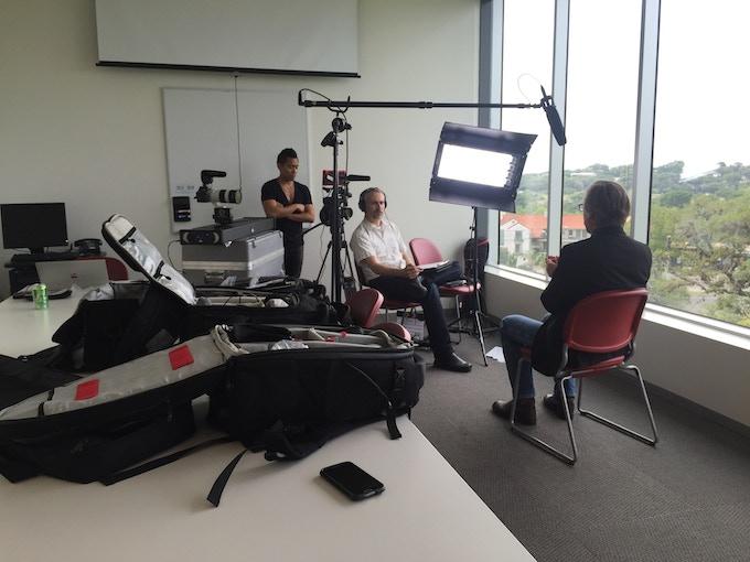Cinematographer PJ Raval & director Pi Ware interview Dr. Randy Wymore