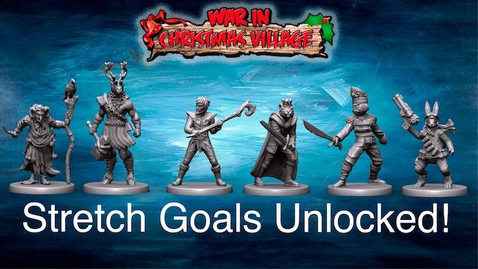 Unlocked Stretch Goals