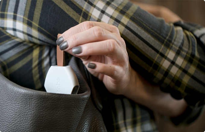 Use Locators to keep tabs on your purses, briefcase, and more.