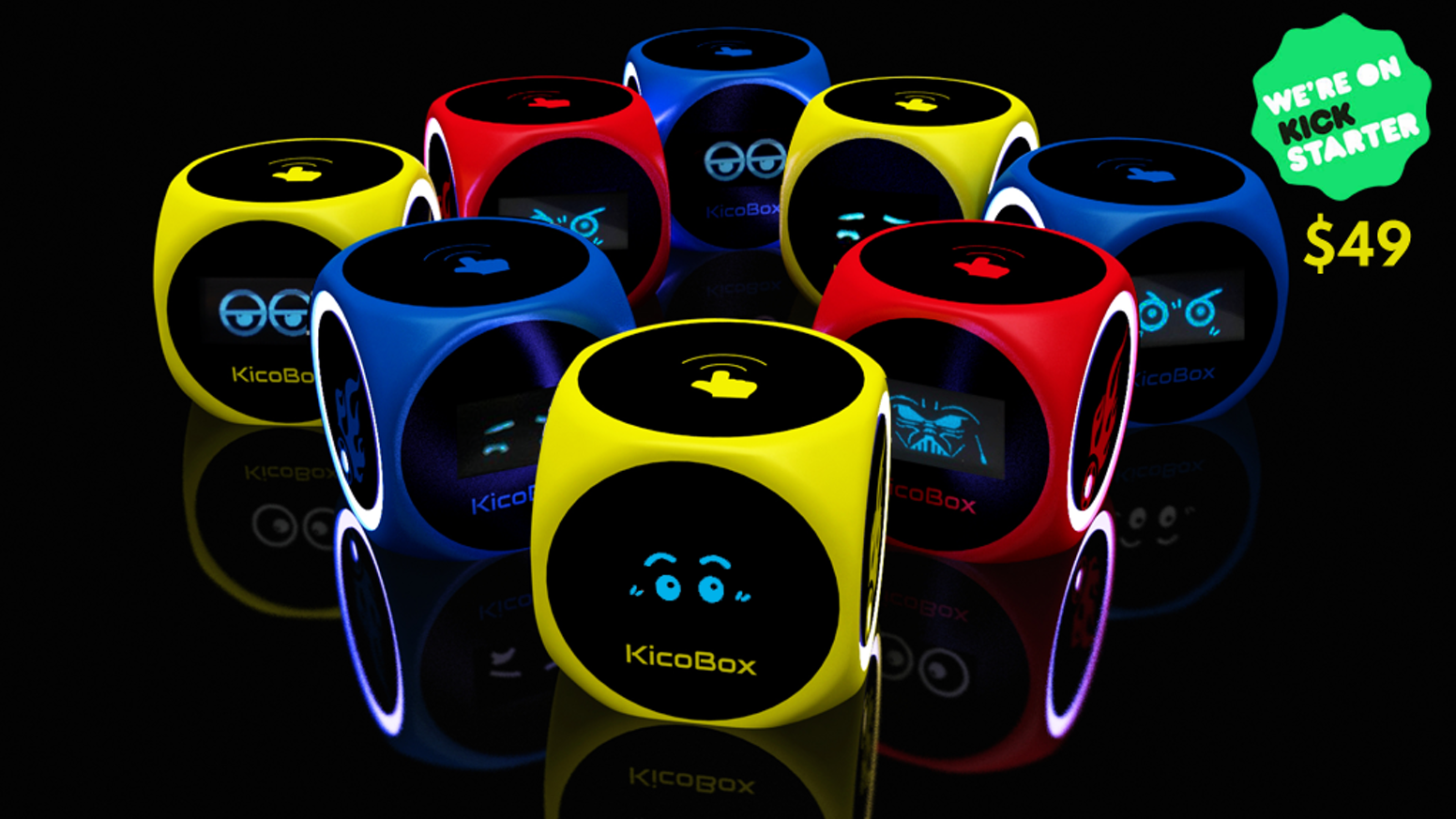 Let everyone fall in love with coding with KicoBox, the robot that turns anywhere into an interactive coding experience.