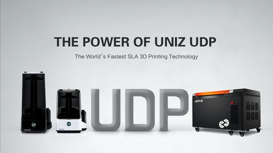 UNIZ-UDP: the World's Fastest 3D Printing Technology