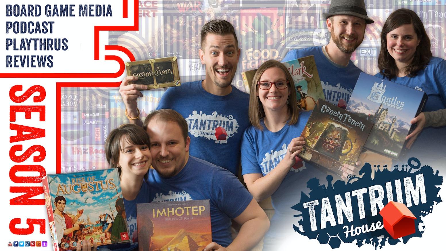 Tantrum House Board Game Reviews: Season 5 by Tantrum House