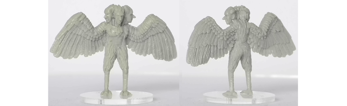 Plain resin miniature, approx 31mm high. Sculpted by Darren Edwards