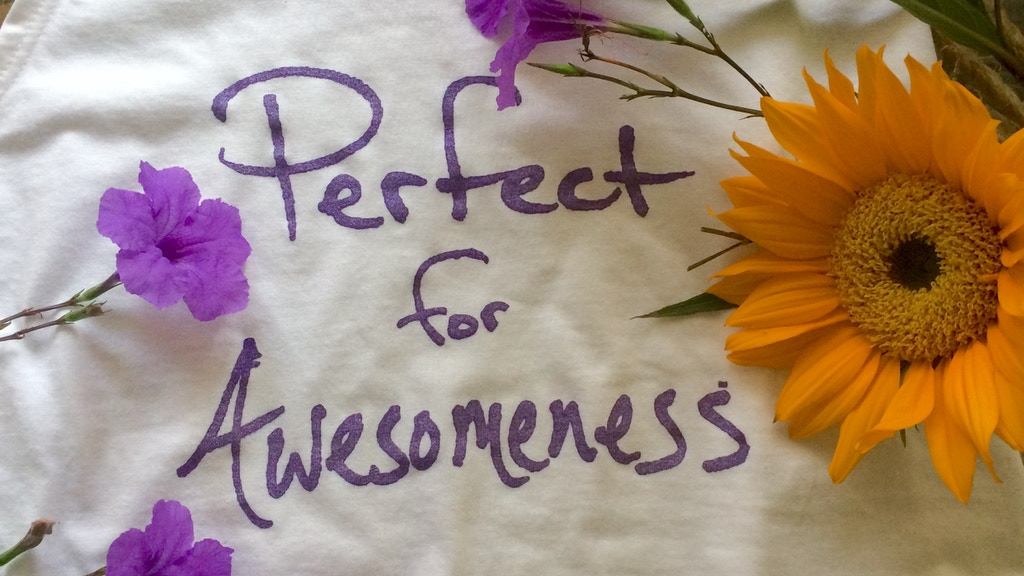 Project image for PERFECT for AWESOMENESS uplifting/joyous lifestyle brand