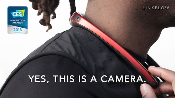 FITT360 - The First 360° Neckband Wearable Camera