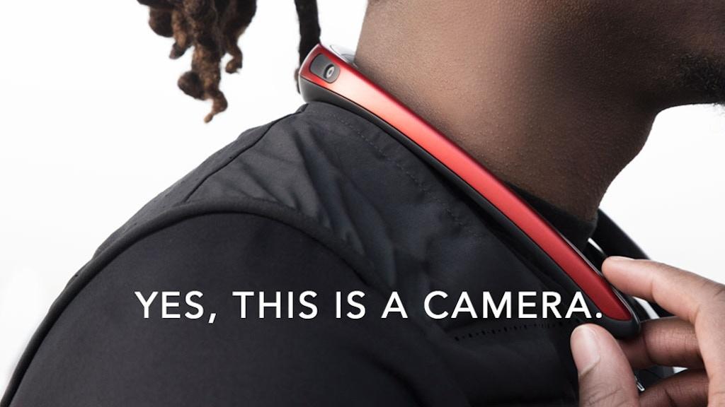 FITT360 - The First 360° Neckband Wearable Camera