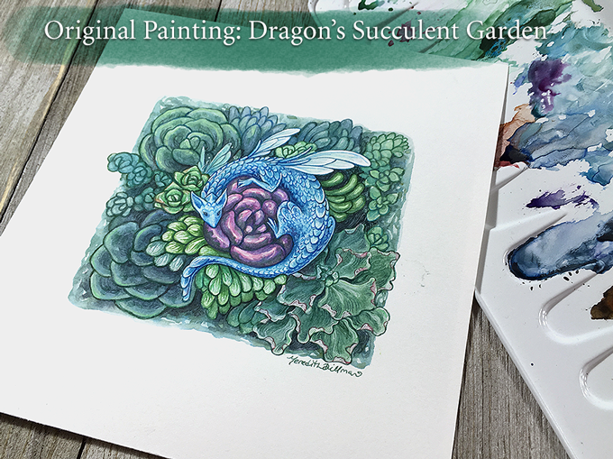 Dragon's Succulent Garden