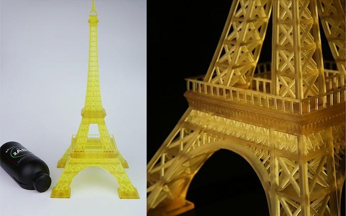 zSLTV-M Printed Eiffel Tower