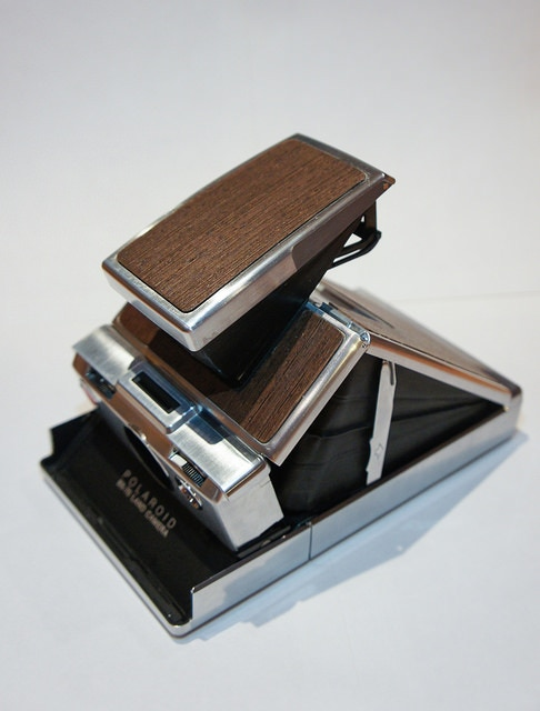 Wenge veneer Polaroid SX70
