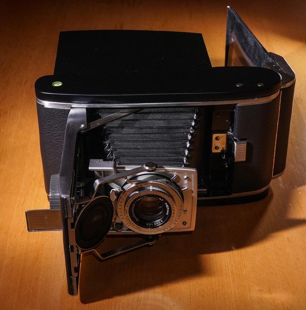 Unique 5x4 converted Polaroid 110a