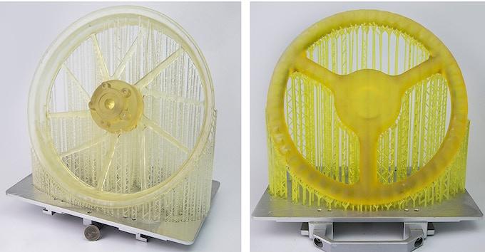 zSLTV-M Printed Wheels and Stearing Wheel
