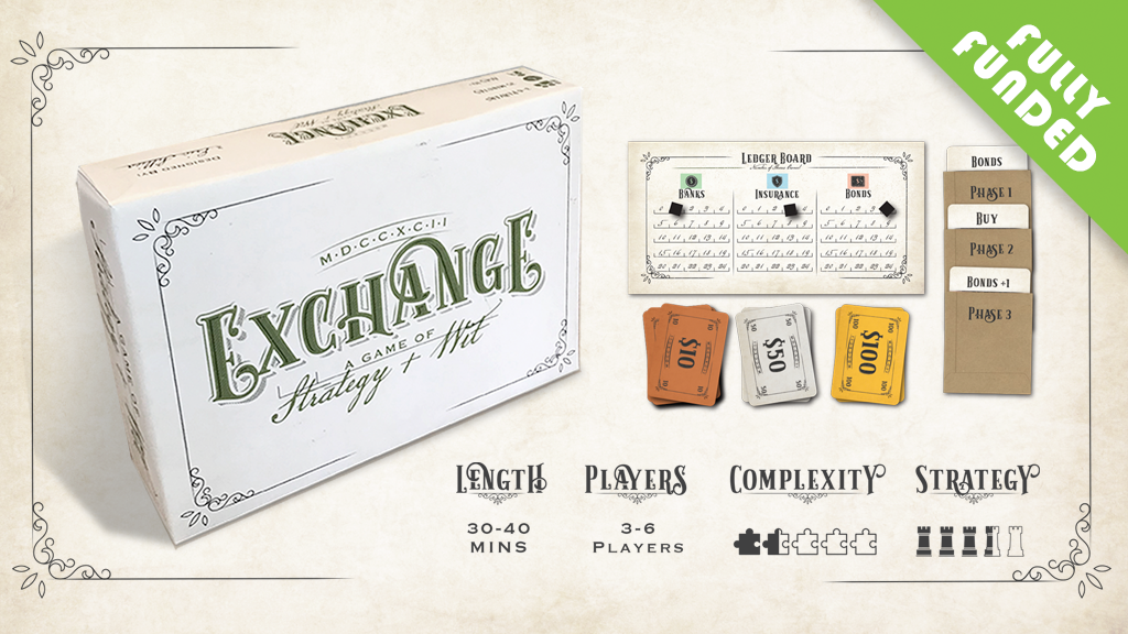 Exchange: A stock trading game of strategy and wit project video thumbnail