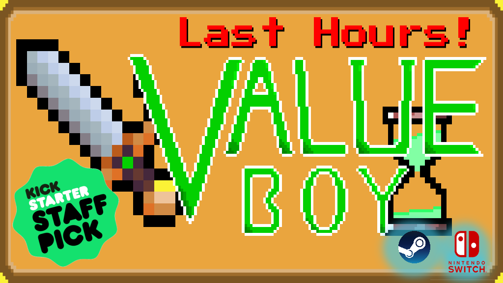 Value Boy - A new modern arcade for Switch and Steam! project video thumbnail