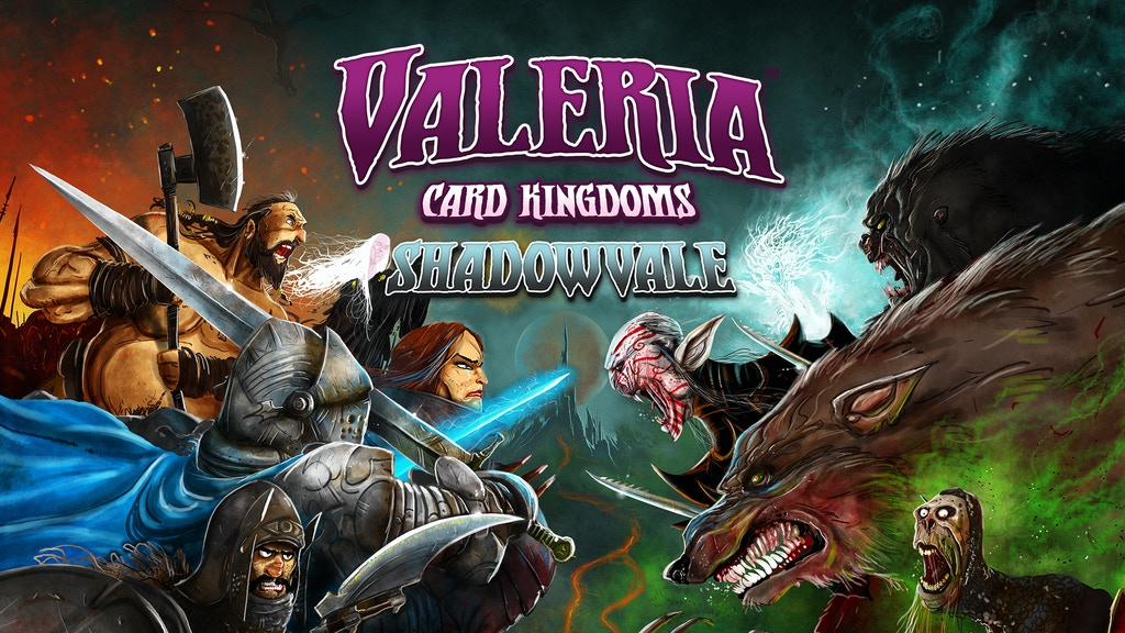Valeria: Card Kingdoms - Shadowvale project video thumbnail