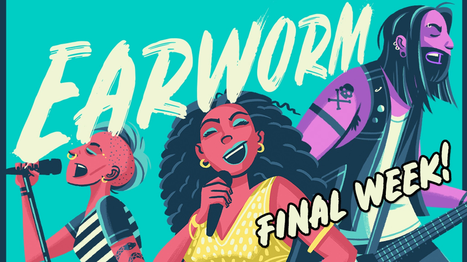 Earworm is the game that has YOU recreating your favorite songs without the lyrics! Perfect for parties, with family, and friends!