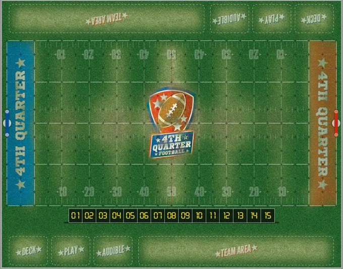 The blimp eye view of the FQF Stadium