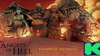 Angels of Hell #1: An Apocalyptic Tale ft. the Four Horsemen