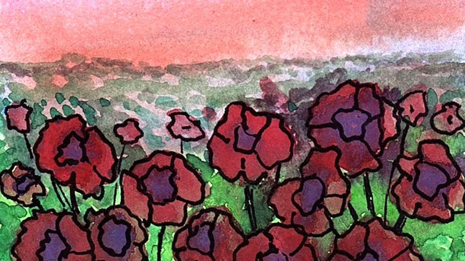 I Love To Create Mini Watercolor Paintings Inspired By The Landscape Around Me And Places In My Imagination
