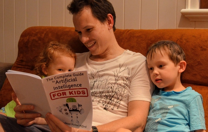 Reading the AI Guide with my kids