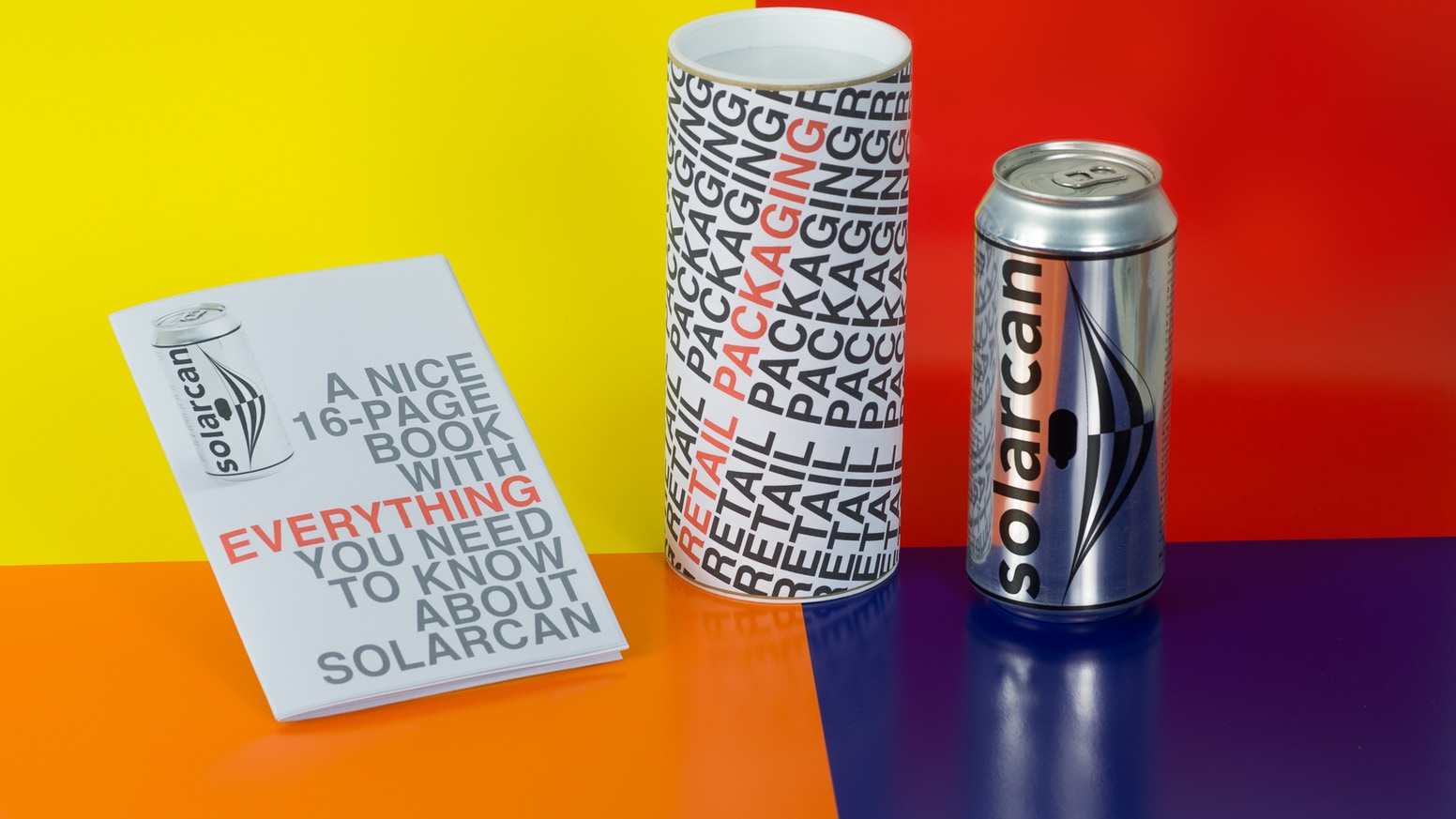 As part of Kickstarter's ' Make 100 ' initiative we hope to fund the 3rd and final phase of Solarcan: retail packaging.
