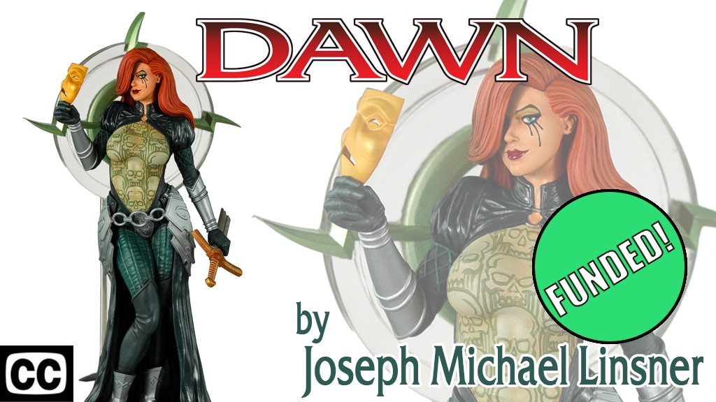 Dawn Statue by Joseph Michael Linsner project video thumbnail