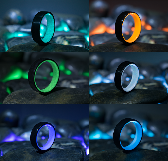 Aqua, Orange, Green, White, Purple, Blue
