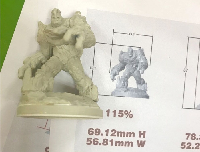 The Boulder Hulk mini is for backers only. Rumble...rumble...