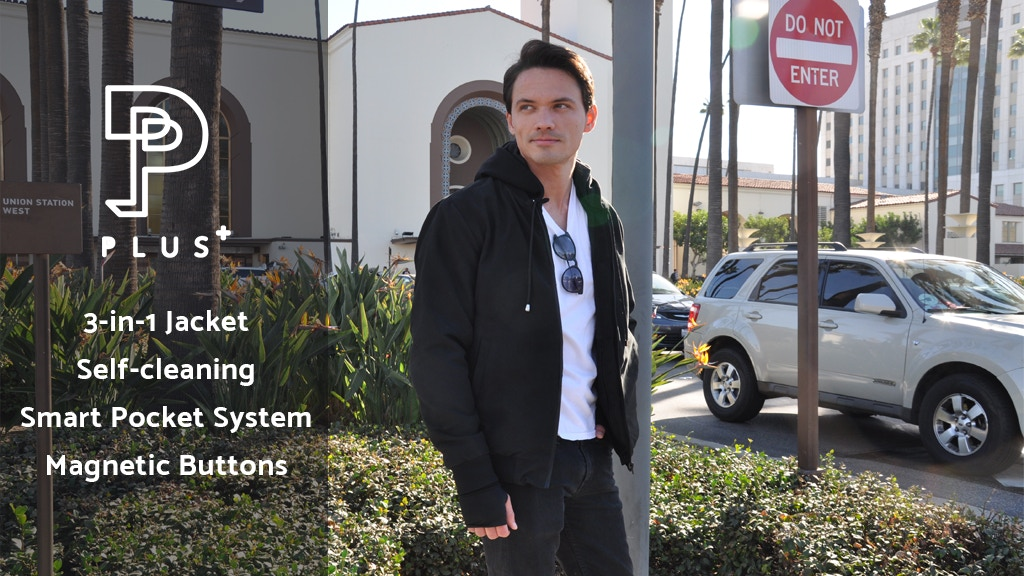 Plus+ Jacket: The ONLY 3-in-1 Jacket w/ Smart Pocket System