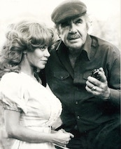 Kitten & Russ Meyer onset of Beyond The Valley Of The Ultra Vixens