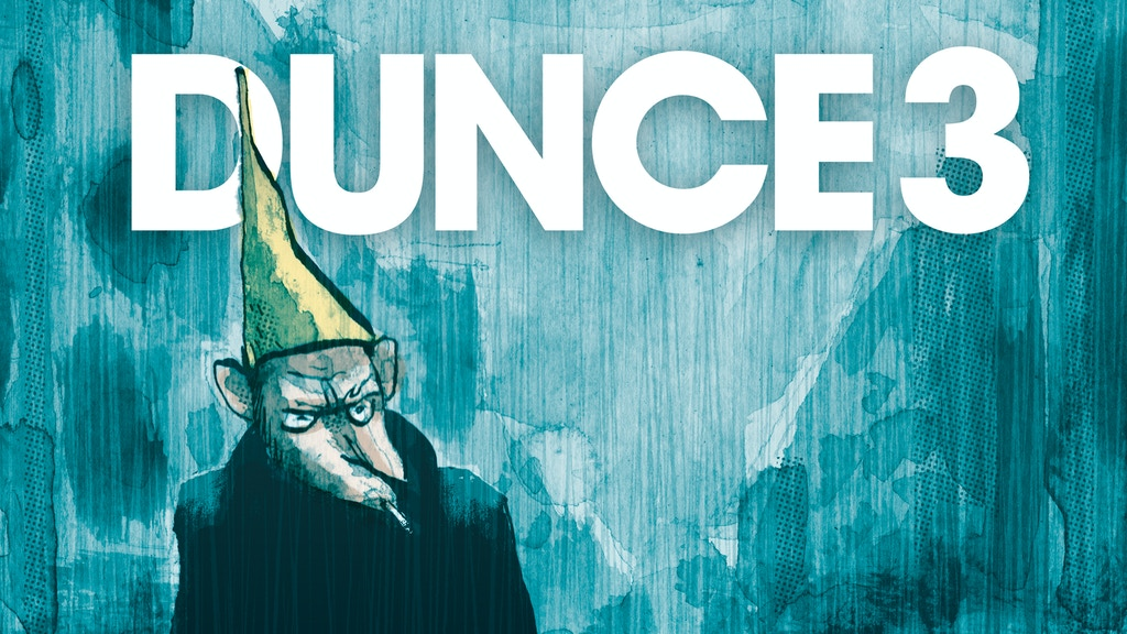 Dunce #3 comic zine project video thumbnail