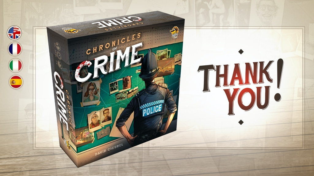 Chronicles of Crime miniatura de video del proyecto
