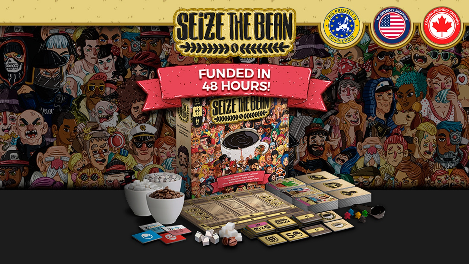 Seize the Bean - A Light-Hearted Deck Builder about Berlin! by ...