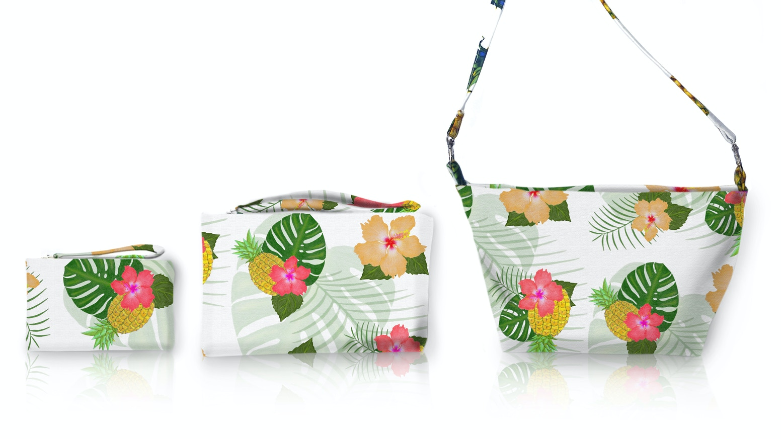 Make 100 Handmade Tropical Handbags And Clutches