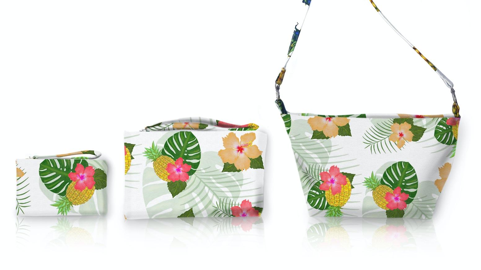 Make 100 Handmade Tropical Handbags And Clutches By Kerri