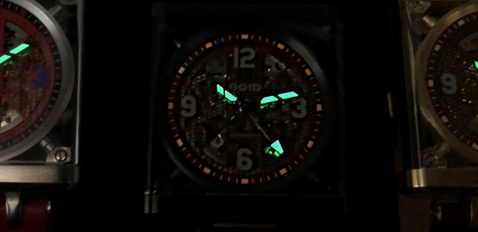 Close up on the lume of MD3.