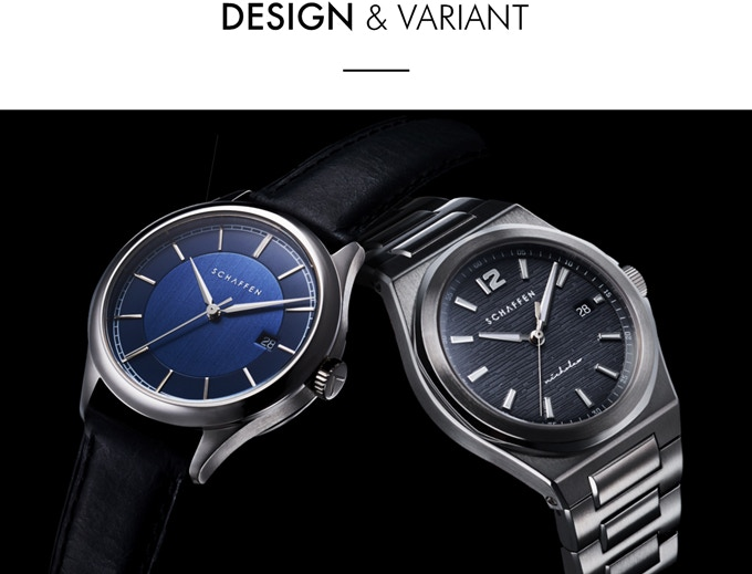 A65 Dress Watch & S65 Sport Watch