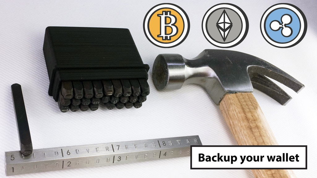 CryptoHex - Backup your Cryptocurrency project video thumbnail