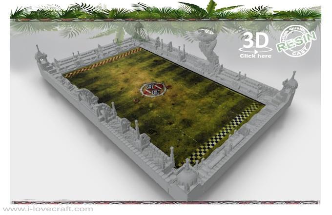 Jungle Fever: Resin cast and 3D printable scenery - Kickstarter