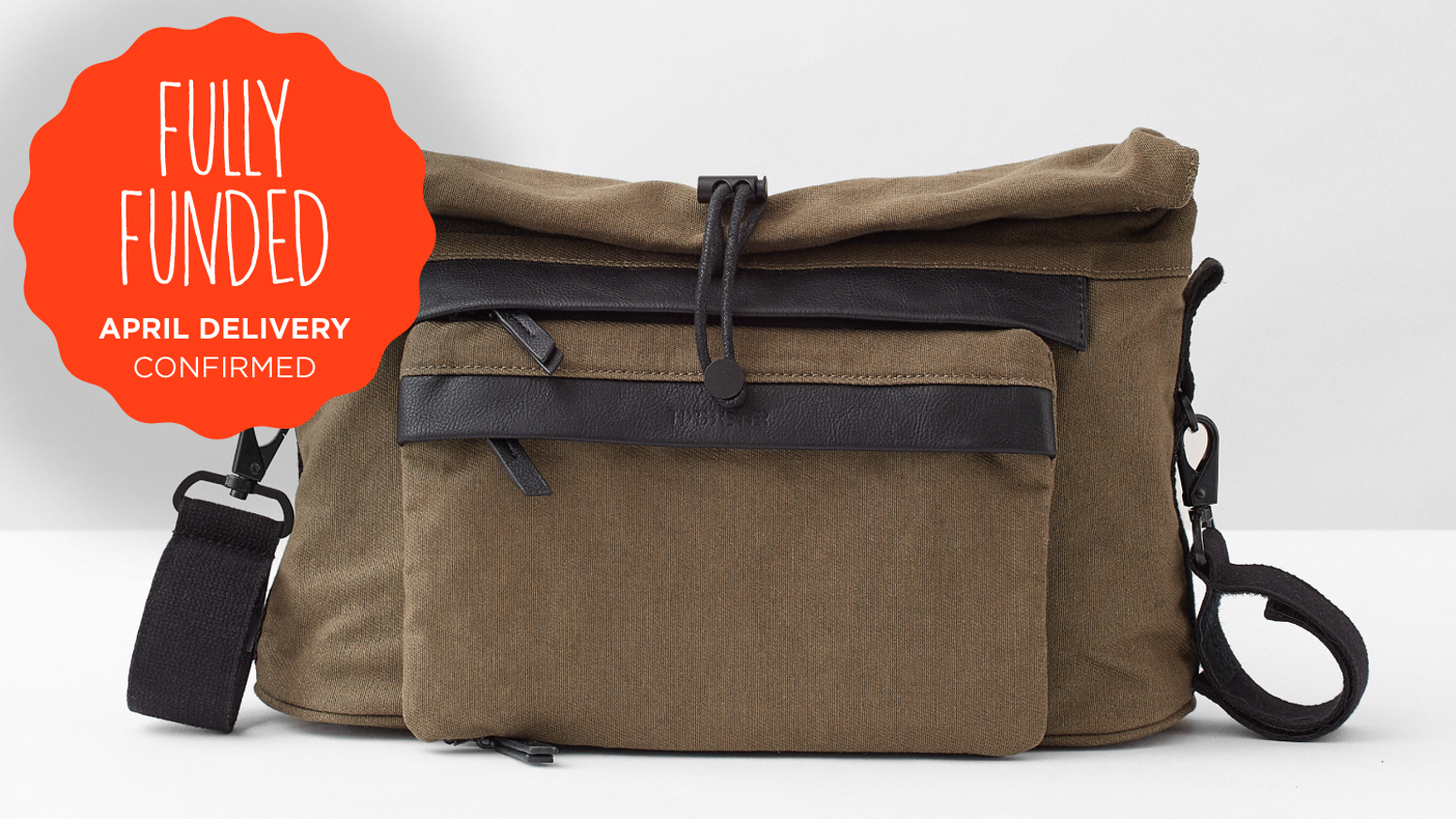 A portable foldout changing bag that adapts to the needs of parents and child, from birth to toddler. Functional Scandinavian Design.
