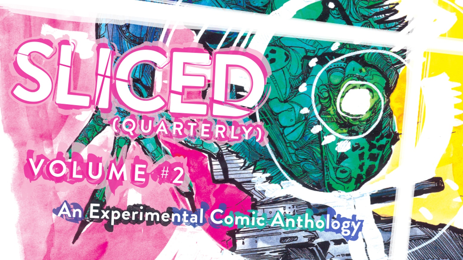 Sliced Quarterly Vol. 2 collects issues #5-8 of the experimental comic anthology. Featuring simple stories told in extraordinary ways.
