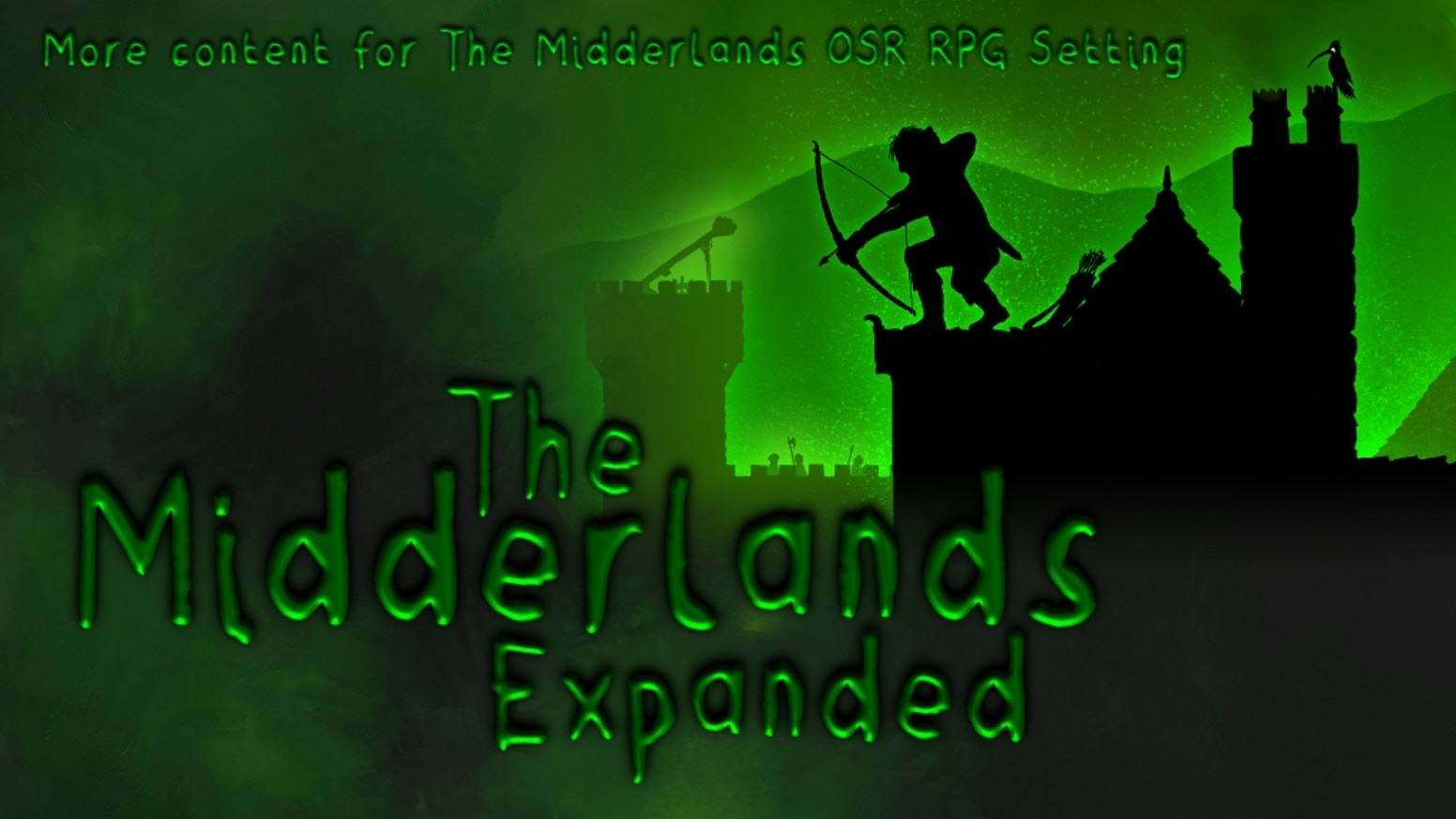 An expansion to The Midderlands OSR Setting and Bestiary. For Old school roleplaying games, in particular Swords & Wizardry