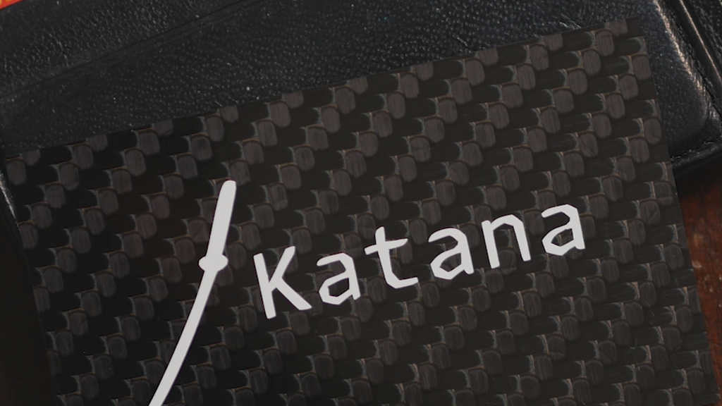 Katana: Wallet-Sized Carbon Fiber Ice Scraper/RFID Blocker project video thumbnail