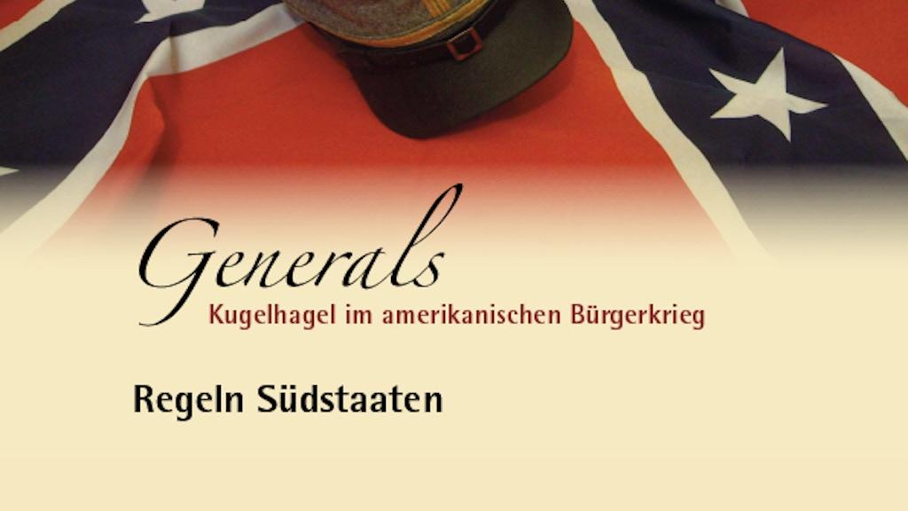 Kugelhagel Generals project video thumbnail