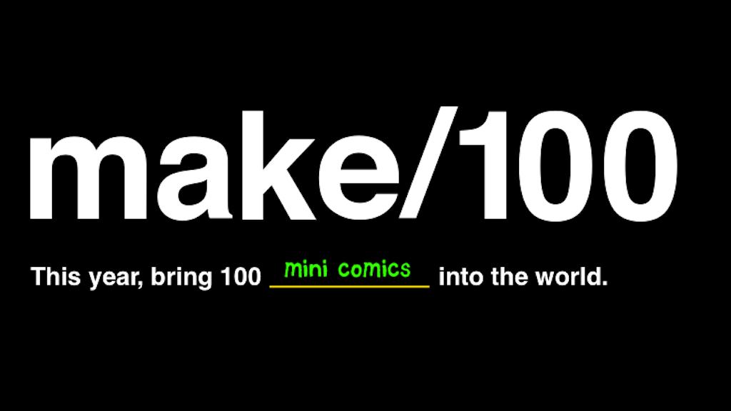 Make 100 sets of Risographed mini-comics project video thumbnail