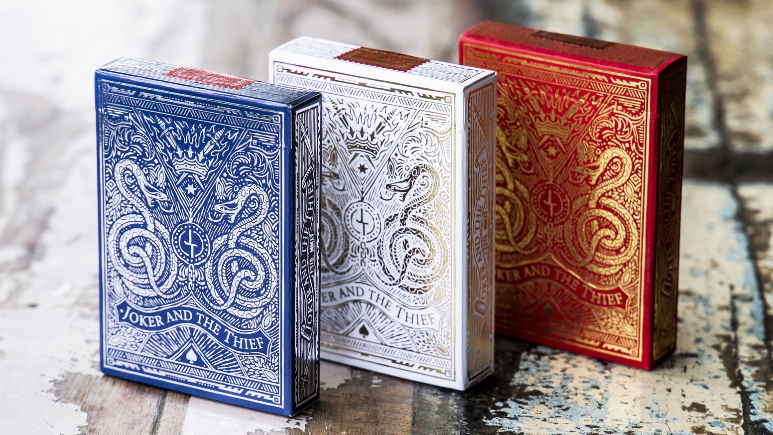 Joker And The Thief Playing Cards Edition 2 By Joker And The Thief