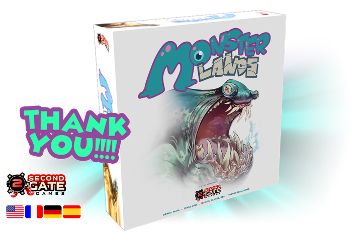 MONSTER LANDS is a competitive 1-4 player game. It combines dice placement, resource management, and fun battles with monsters in a universe full of beautiful illustrations. Voted MOST ANTICIPATED NEW GAME 2018 in the EURO category by BGG users.