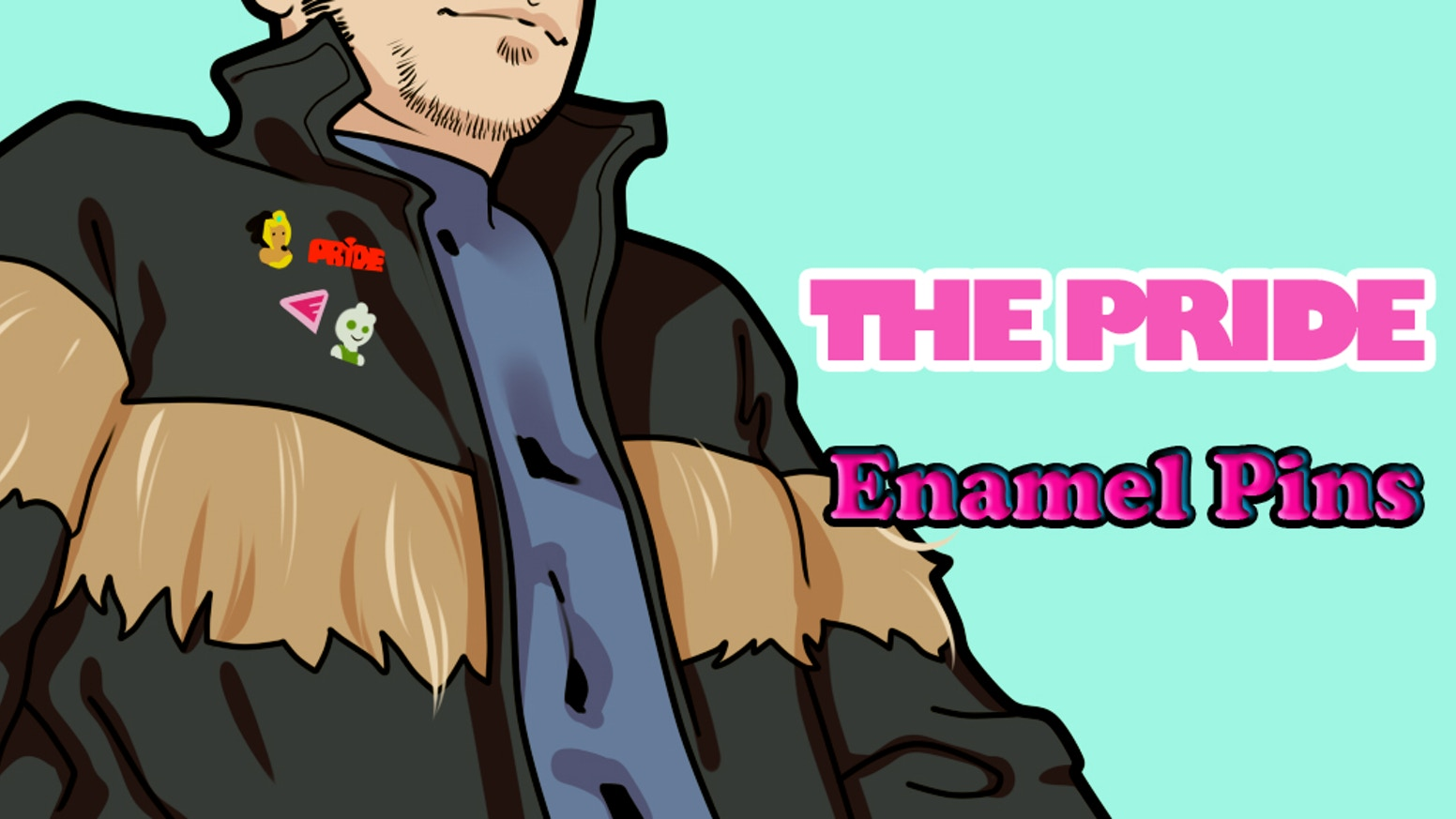 As part of Make 100, help us make a limited edition The Pride pin of one of the LGBTQ+ superhero team's most popular characters!