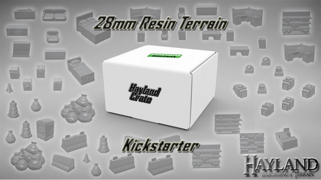 Hayland Crate: 28mm Resin Terrain!