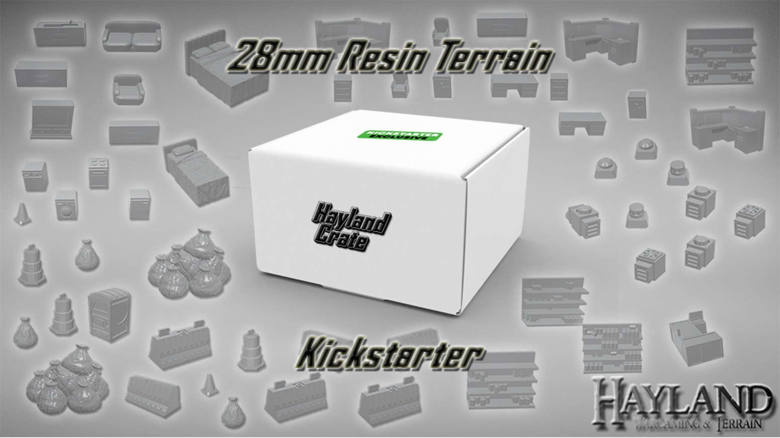 Bring your Table-top Games to Life! Affordable and Hand-Cast 28mm Resin terrain! - Modern, Wasteland, Sci-fi, Fantasy - EU Friendly!